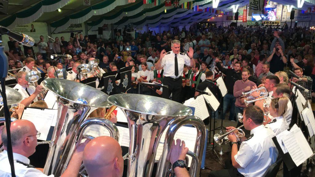 Blasmusikfestival in Bad Schlema